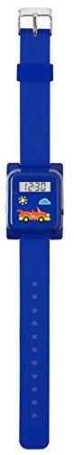 QL London Wootch Kinderuhr Armbanduhr Digital Tracker Uhr mit Bluetooth - Blau
