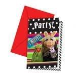 The Muppets Party -muppets Party-einladungen & Umschläge x 6