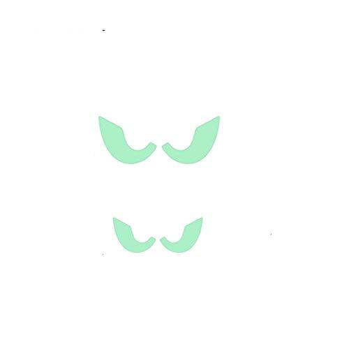 Smilelane smlelane Halloween Dekorationen Wand Aufkleber Glow in The Dark, Home Decor Abnehmbare Kunst Wandbild Baby Kinderzimmer Eyes (In Glow Partys Zubehör Dark The Für)