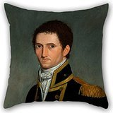 uloveme-throw-pillow-covers-of-oil-painting-toussaint-antoine-de-chazal-de-chamerel-portrait-of-capt