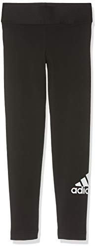 adidas Mädchen Must Haves Badge of Sport Tights, Black/White, 116