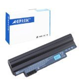 6 Cell Battery for Aspire One D255 Aspire ONE D260 Acer Happy One Replace Battery Part Numbers AL10B31 AL10A31 AL10G31