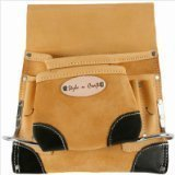 Style n Craft 93-823 8 Pocket Top Grain Tool Belt Pouch by Style N Craft (8 Grain Pocket Top)