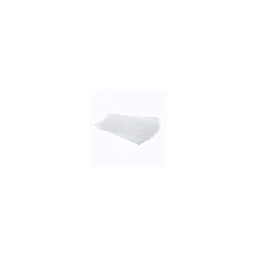 DECORA Confezione Fogli per Alimenti, 150 Micron, Plastica, Trasparente, 40 x 60 cm, 10 Pezzi