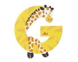 Sevi Alphabet Buchstaben Graffiti Animal, Buchstabe Giraffe G