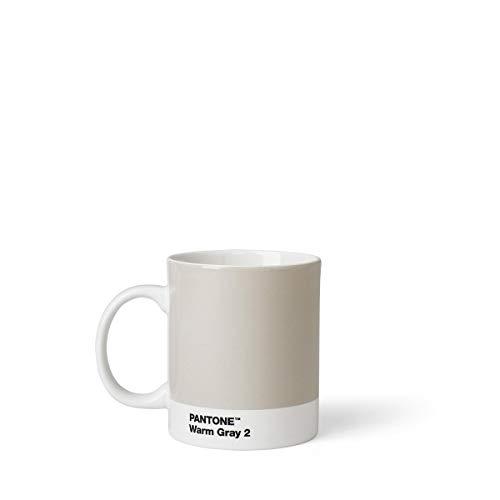 Pantone Kaffeetasse, Porzellan, Warm Gray 2, 8.4 x 8.4 x 12.1 cm -