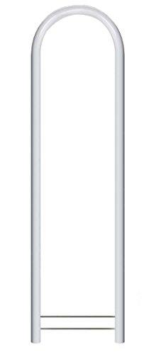Bobi Round RAL 9016 weiß Briefkastenständer
