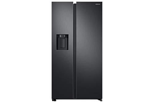 Side-by-side-kühlschrank (Samsung RS8000 RS6GN8321B1 / EG Side-by-Side Kühlschrank / A++ / 389 kWh / Jahr / 178 cm Höhe / 407 L Kühlteil / 210 L Gefrierteil / Schwarz / Space Max / Twin Cooling Plus)