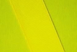 Zipperstop Grosgrain Ribbon 5/8 Inch 10 Yards Neon Yellow