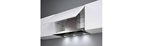 Falmec Campana extractora diseño Move empotrable 120cm cristal blanco