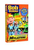 Bob The Builder 30 Assorted Hypoallergenic Waterproof Plasters