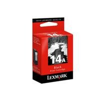 Lexmark Cartridge No. 14A Cartouche d'encre d'origine 1 x noir 175 pages