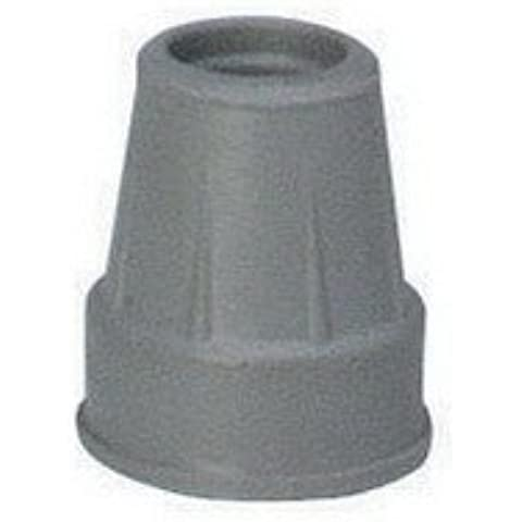 Cane Tip Size: 0.75, Color: Grey by Carex Health Brands