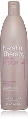 Alfaparf Keratin Theraphy Lisse Design Deep Cleasing Shampoo, 500 ml