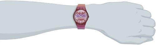 Swatch Damenuhr Analog Quarz mit Plastikarmband – GP140 - 4