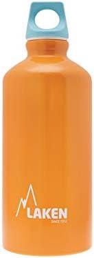 Laken Futura Borraccia di Alluminio, Bottiglia d'Acqua con Apertura Stretta e Tappo a Vite con An