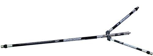 New KAP Archery WINSTORM Stabiliser Rod System Recurve Compound Bow Test