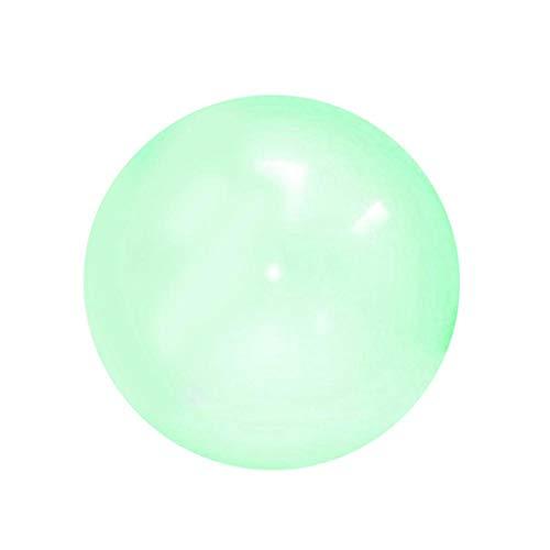 myonly Jelly Ballon-Ball, gefüllt, 1 Stück/2 Stück/4 Stück mit Wasserballon Punch-Ballons, lustige Ballonbälle, die Sich dehnen, für Kinder im Freien, Spielspielzeug Green(1pc)