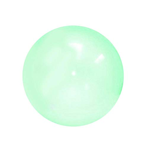 bozitian Aufblasbare Bubble Ball Bubble Riese Luftballon Latex Freizeitbälle Soccer Für Kinder PVC Zorb Bumper Fußball Zorbing Kugel Knockerball Transparent Strand Wasserballon Spielzeug