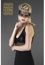 Maison Close–la Mysterieux/máscara con brillantes–negro–TU
