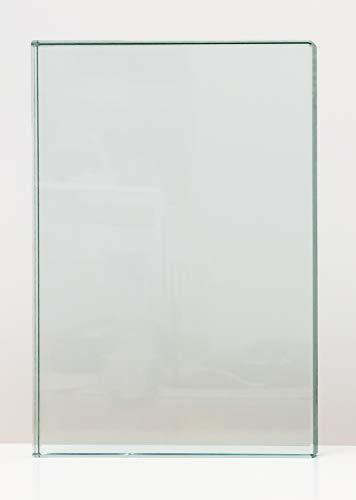 VSG Verbundsicherheitsglas, 10mm + 0,76mm Folie, klar durchsichtig, nach Maß bis 240 x 480 cm. Zuschnitt bis 40 x 40 cm (400 x 400 mm), Kanten geschliffen und poliert, Ecken gestoßen.