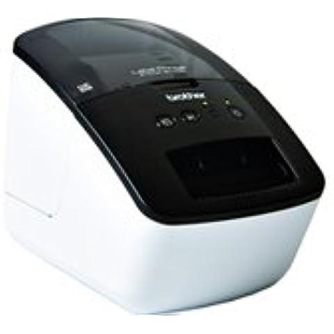 Brother QL-700 - Etiquetadora (300 x 300 DPI), negro y blanco