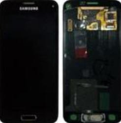 A-Cover + LCD + Touch gold für Samsung G800F Galaxy S5 mini (GH97-16147D)