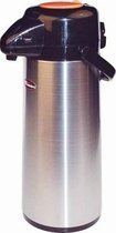 Winco Glass Lined Airpot, 2.5-Liter, Push Button, Decaf by Winco 2,5 L Airpot