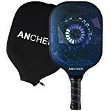YUEBO Graphite Pickleball Paddle, Pickleball Racket - Lightweight 8oz, Honeycomb Composite Core, Carbon