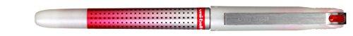 UNI-BALL EYE NEEDLE POINT penna roller inchiostro liquido rosso 12 pezzi