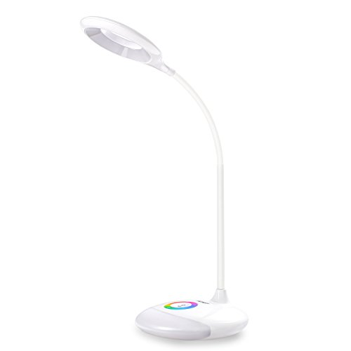 Touch Tischleuchte AUKEY LED Schreibtischlampe 7 Helligkeitsstufen 5 Farbmodi