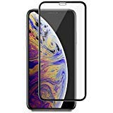 Panzerglas für iPhone XS/X Starkes Shield Glas Klarglas HD Transparent Full Cover Case Friendly with [Easy Install Tool] Displayschutzfolie für Apple iPhone XS/X