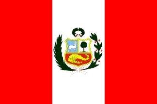 Pérou Navy Ensign Drapeau 150 cm x 90 cm