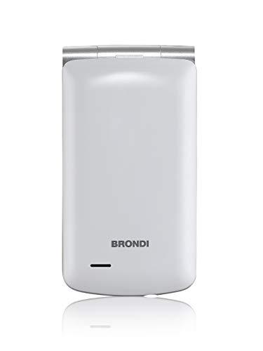 Brondi Magnum 3 Telefono Cellulare, Bianco
