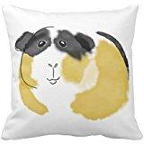 acquerello Guinea Pig Pillow case 45,7x 45,7cm
