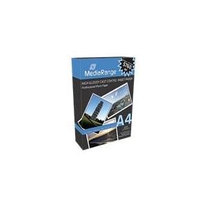 MediaRange MRINK105 Photopapier A4, 100 Blätter, 160 g/m², hochglanz