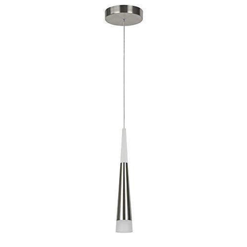 Moderna lampada a sospensione, STARRYOL 7W LED Decorazione plafoniera con stile a cono, ideale per soggiorno, ristorante, camera da letto, caffetteria, ecc