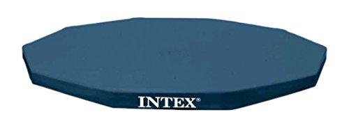 Intex Abdeckplane für Metal Frame Pool, schwarz, Ø 457 cm, Überhang 25 cm
