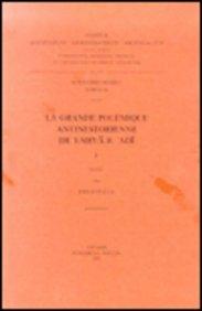 La Grande Polemique Antinestorienne De Yahya B. 'adi, I. Ar. 36. par E Platti
