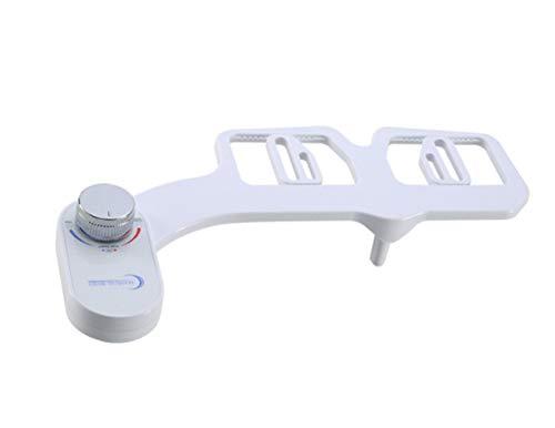 Tochange Nicht-Elektro-Toiletten-Sessel Bidet Mit Dual-Mode-Düsen, Selbstreinigungsdüse, Kaltschnäuzen-Wasser-Sprayer für persönliche Hygiene, einfache Installation -