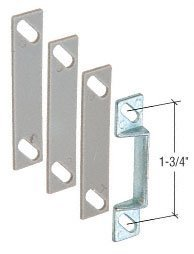 C.R. LAURENCE K5009 CRL Aluminum Latch Strike with Shims by C.R. Laurence