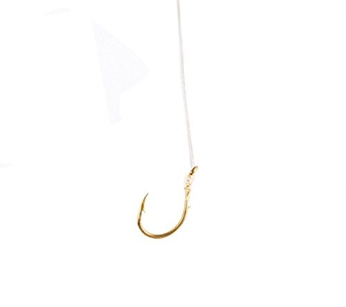 Eagle Claw 073-10 Snelled Hooks by Eagle Claw (Eagle Claw Angelhaken 10)