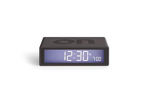 Lexon Flip RCC Despertador LCD Gris