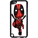 Ipod Touch 5th Generation Cover Shell Cute Funny Awesome Comic Superhero Deadpool Phone Case Cover for Ipod Touch 5th Generation Mercenary Great,Cas De Téléphone