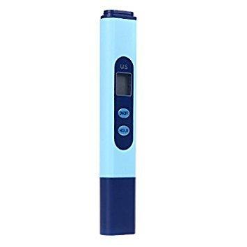 Wasser tester Stift - TOOGOO(R) LCD Digital EG Wasserleitfaehigkeitsmessgeraet Stift Tester 0-9999 ?s/ cm Blau -