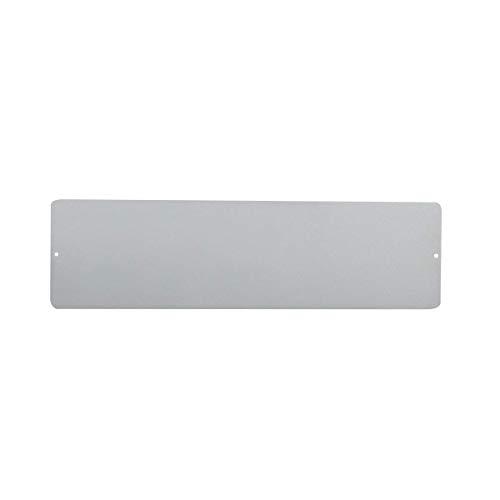 Argent de Plaque en métal pour pots magnétique comme décoration murale ou rangement mural, Kalamitica 25114–990–001