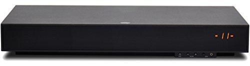 Zvox SoundBase 320 Hogar Alámbrico Negro - Amplificador de audio (40 W, 55-20000 Hz, Conector tipo banana, 110-120, 602 mm, 292,1 mm)