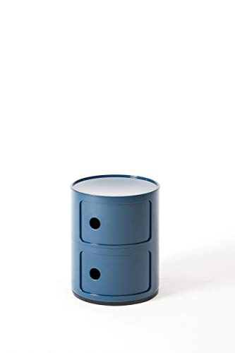 Kartell, Componibile, Contenitore, Blu, 32 x 32 x 40 cm
