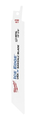 Milwaukee accessori 48004184Ice Hardened Sawzall lama per seghetto alternativo