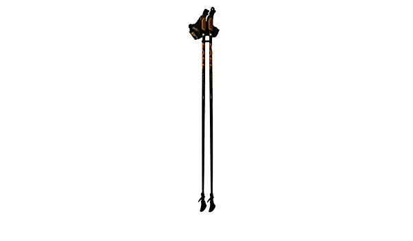 EXEL Nordic Walker EvoCork Bastoncini per Nordic Walking Colore: Nero 125 cm